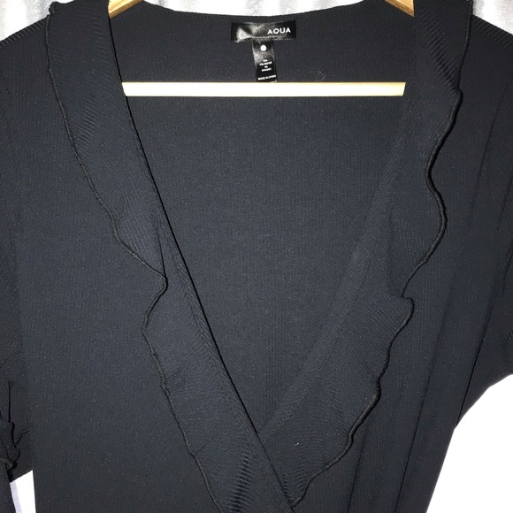 Dresses & Skirts - Aqua from Bloomingdales black wrap dress